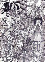 Alice in Wonderland by sandysandy1993