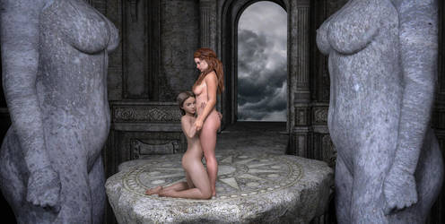 Temple of love by DoreenG