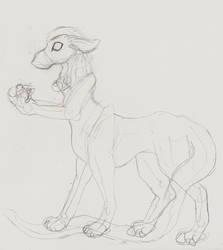 Senka Cadence sketch by jasper899