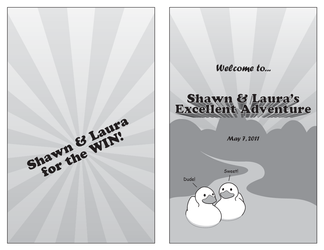 Shawn and Laura's Excellent Adventure by saltorio