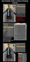 Daz Transfer Utility To dForce Cloth Tutorial by soup-sammich