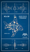 EVE Online - Piranha by fabianfucci