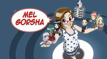Commission - Facebook header for Mel Gorsha by fabianfucci