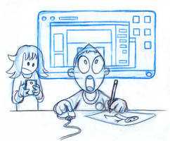 Mobile vs Desktop by fabianfucci