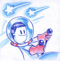 Space kidet by fabianfucci