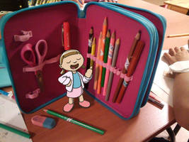 Pencil box by fabianfucci