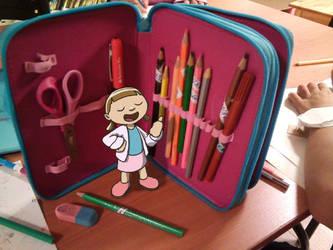 Pencil box by fabianfucci
