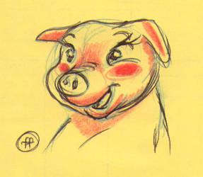 Pig by fabianfucci