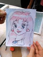 Anime redhead by fabianfucci
