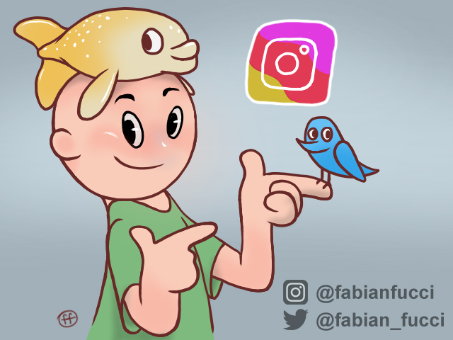 IG and Twitter links by fabianfucci