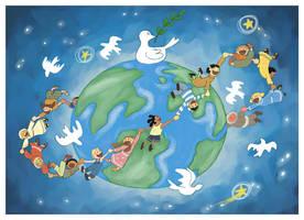 UNICEF postcard by fabianfucci