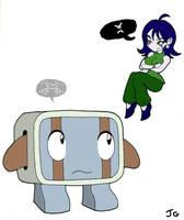 Cave Story: Balrog and Misery by greliz