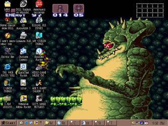 Desktops are for desks by greliz