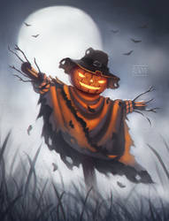Scarecrow by PolyaBorty