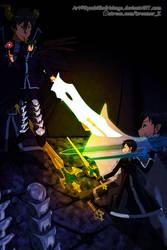 Virtual Swordsman VS. Fast-food Devil by KyuubifiedHokage