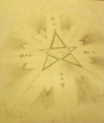 Pointy pentagram by DeathHunters