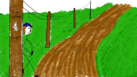 powerlines by BrianHanson2nd