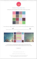Retro Vintage Colour Chart + Tutorial by regularjane