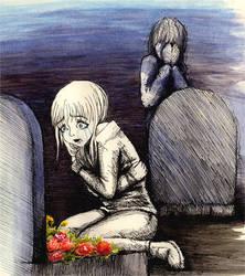 ...gone... by KizUna-Cat