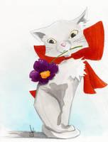 little kitty by KizUna-Cat