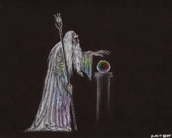 Saruman of Many Colours by Apelure