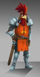 Gallus knight by YeyeiAlba