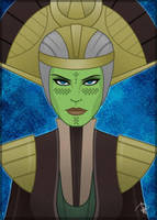 SWTOR Mirialan Jedi Consular Kaia Lassic by Aliens-of-Star-Wars