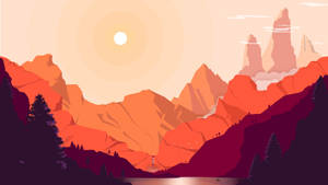 Red Mountains by RasRT