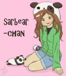 Sarbear-chan (contest entry) by LinksLover4ever