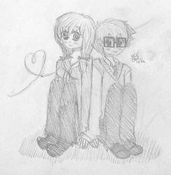 KA: Mitsu and Mimi by LinksLover4ever