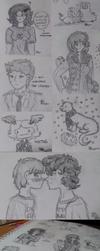 Sketch Dump #1 by LinksLover4ever