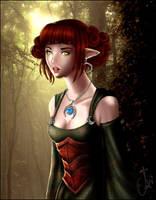 Corellon Larethian's Priestess by ava-angel