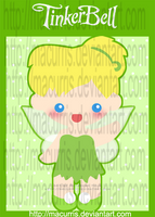 Chibi Tinkerbell by macurris