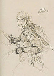 Jaime Lannister by jainas