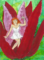 Hand-bell Fairy by jainas