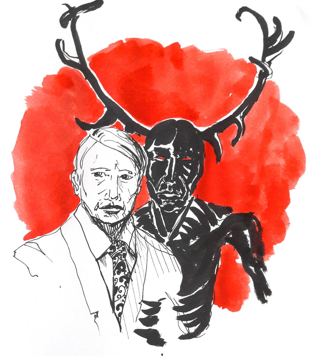 Hannibal: the wendigo by jainas