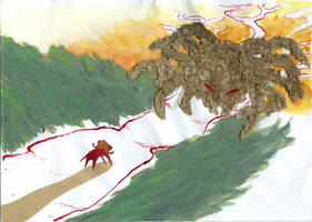Illustration-The Endless Tree3 by jainas