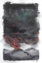 Fiery solitude (The Volcano) by jainas