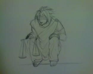 L as Lady Justice by Mai-Fujimiya