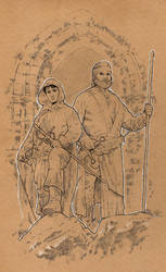 Fafhrd and the Gray Mouser by jasonbaroody