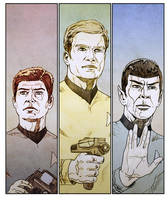 Star Trek by jasonbaroody