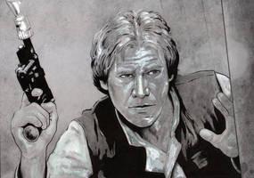 Han Solo by jasonbaroody