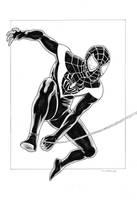 Ultimate Spider Man by jasonbaroody