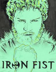 Iron Fist by jasonbaroody