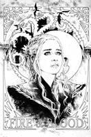 Daenerys Targaryen by jasonbaroody
