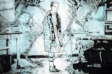 Eleven / StrangerThings by jasonbaroody