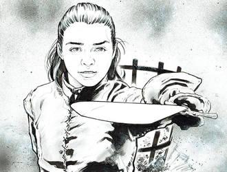 Arya Stark by jasonbaroody