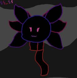 Outline Axolotl! by SunShine-SodaShy