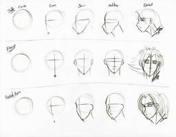 Face Sketch Tutorial by Juacamo
