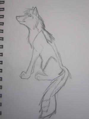 Wuff Wuff Sketch by Foxshay